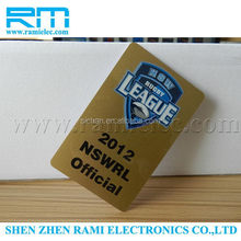 New Products RFID card 13.56Mhz ISO14443A 1k /S50 /ultalight chip for access controls made in china