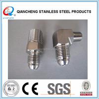 316 stainless steel JIC x NPT male hyd adapters