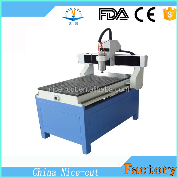 High Quality High Frequency Spindle 3d Wood Carving Cnc ...