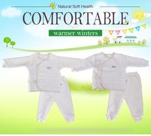 100% Organic cotton new pretty design new born baby romper GB008
