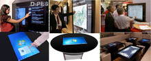 """Wintouch 21.5"""" Projected capacitive touch table with touch screen"""
