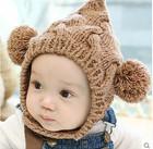 Baby/divertida crianças inverno chapéu pompom( cl004)