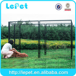 2016 new wholesale galvanized lows dog kennel and runs