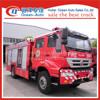 SINOTRUK HOWO 8ton water tanker fire truck