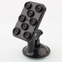 Multi-function universal 360 degree rotation flexible cell phone holder