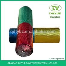 Térmica resistente al aislamiento de la pared con aluiminium foil y burbuja del aislamiento de calor