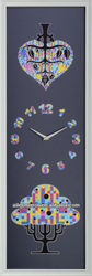 Rectangle wall clock retro flip down clock HD-CM2014