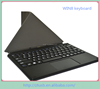 10.1 inch Genius design high quality untra thin tablet pc leather case with keybaord and touchpad