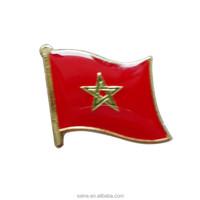 Morocco promotional butterfly pin badges with cheap price