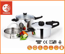 New Design electric non-stick pressure cooker 6pcs stainless steel cookware set