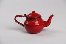 High quality enamel small round tea kettle