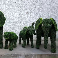 large green animal sculpture for garden decoration,landscape art green animal on hot selling