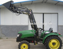 Venta caliente mini 20hp-40hp tractores con cargador frontal