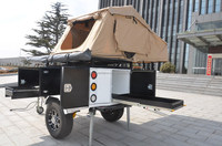 Hot sale in Australia top roof tent off road camper trailers