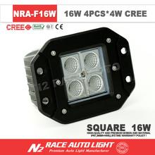 Factory Wholesale 2015 Auto Accessories IP67 Flush Mount LED Work Light 16 watt with CE Certificate