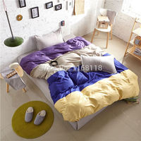 Promotion! 4pcs comforter bedding set for twin, full, queen/king size beds 4pcs bedclothes bedding set, free shipping!