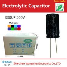 High voltage Aluminum electrolytic capacitor 330UF 200V