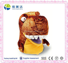 Lifelike dinosaur hand puppet