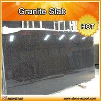 Newstar china black granite slab