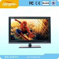 LED TV 22 inches electronic market dubai ,OEM factory multifunction FULL HD With HD,USB,VGA