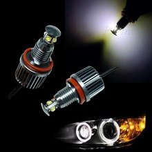 High quality Manufacturer Wholesale LED Headlight Angel Eyes LED Marker Light For BMW 40W H8 E92 E90