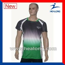 Healong Dye Sublimated Rain Proof Uv Color Changing T-Shirt