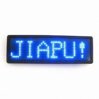 2015 Programmable and rechargeable Mini taxi advertising signs electric MADE IN CHINA