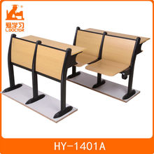 HY-1401A college seating,Student desk and chair