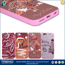 2016 christmas silicon custom phone case for iphone 6 6s