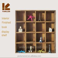 Varnished wood/MDF room use good quality storage book shelf