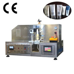 2015 CE Approval New Cosmetic Lamination Tube Manual Ultrasonic Sealing Machine