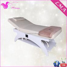 Designer hot sale wooden facial bed/massage roller bed