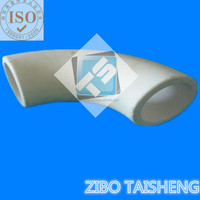 Alumina Ceramic Elbow for Ash Piping ,China Manufacturer