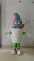 frozen yogurt mascot costume for outdoor advertising