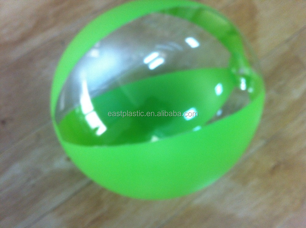 Colorful pvc toy inflatable beach ball buy clear pvc for Balls deep fishing weights