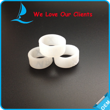 New Style Swirl and Debossed Silicone Rings