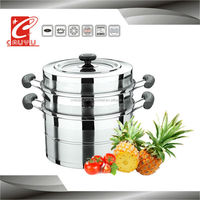 new product large stainless steel steamer halogen cooking pot