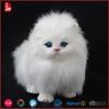 China purchaselovely and good quality lifelike white cat plush toy
