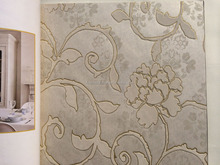 high quality flocking wallpapers decorative home