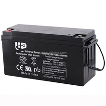 Environmental .rechargeable long life best price solar battery 12v 150ah for ups