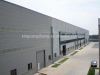 Light steel structure Sandwich panel house prefabricated Building for Workshop Warehouse