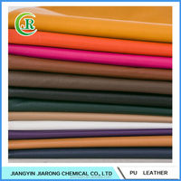 Soft Hand-feeling PU Leather Fabric for Garment Leather