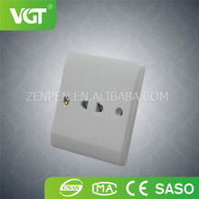 Hot popular products VGT 2 pin electric socket easy for installation