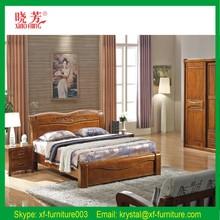 Natural Mongolia Pinewood Easily Assembled Standard Tatami Bed