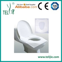 disposable toilet paper seat cover for travel usage ,more environment and healthy