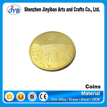 Promotion soft enamel high quality old gold coin prices