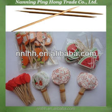 disposable wood party cocktail picks