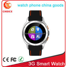 low cost watch phone manual with sim card gps china goods
