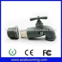 Custom Rubber Water Faucet USB Key