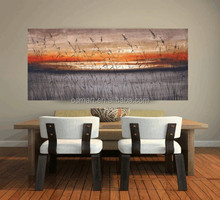 wall sticker canvas oil painting landscape sunset oil painting on canvas abstract oil painting wall pictures for living room